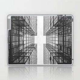 Black and White Skyscraper Laptop & iPad Skin
