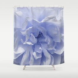 Pantone Blue Rose Shower Curtain