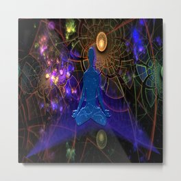 Astral Travel One with the Universe Metal Print