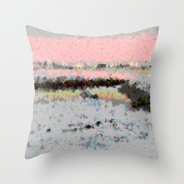 Lights of nature Throw Pillow