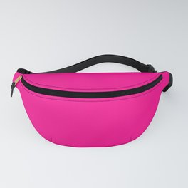 SOLID FUSCHIA COLOR Fanny Pack