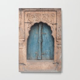 Doors Of India 2 Metal Print