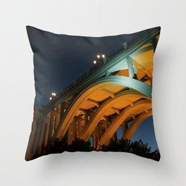 Calle de Segovia Throw Pillow