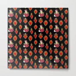 Sacred Hearts and Frida Metal Print