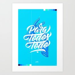 Para Todos Todo - Flume Art Print