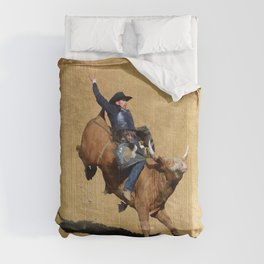 Bull Dust! - Rodeo Bull Riding Cowboy Comforters