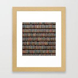 The Library Gerahmter Kunstdruck