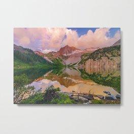 Snowmass Lake Metal Print