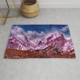 Denver Rocky Mountain High Mountains Rug