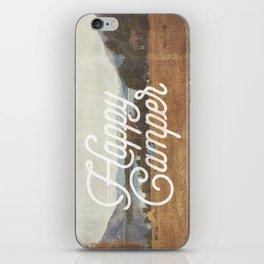 HAPPY CAMPER iPhone Skin
