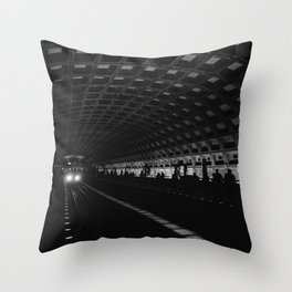 DC Metro II Throw Pillow