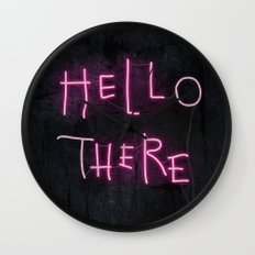 Hell Here Wall Clock