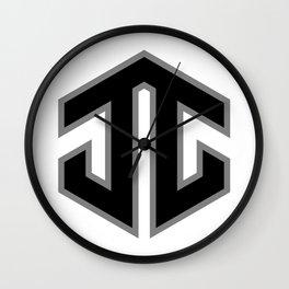 Josh Jacobs JJ Emblem Wall Clock