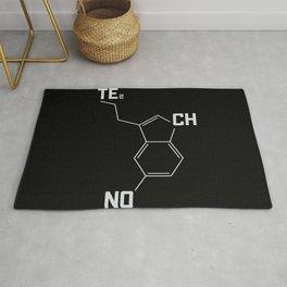 Techno serotonin molecule Rug