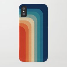 Retro 70s Color Palette III iPhone X Slim Case