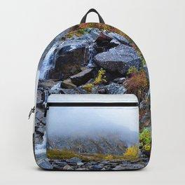 Independence Mine Waterfall - Alaska Backpack