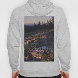 Wildflowers at Dawn - Nature Photography Hoody