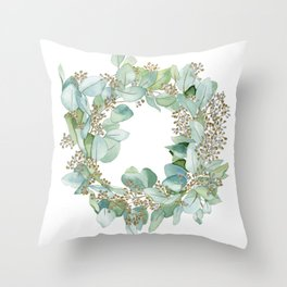 Eucalyptus 2 Throw Pillow