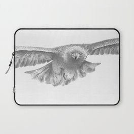Golden eagle in flight, Aquila Chrysaetos Laptop Sleeve