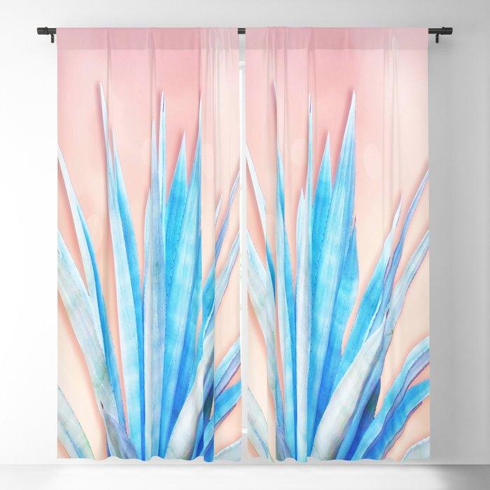 Agave Azul Blackout Curtain