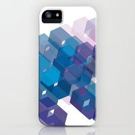 3D-blocks iPhone Case
