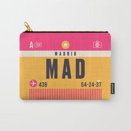 Baggage Tag A - MAD Madrid Barajas Spain Carry-All Pouch