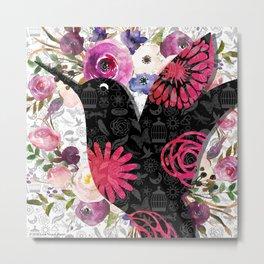 Flights of Fancy Too-Hummingbird Metal Print