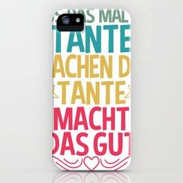 aunt iPhone Case