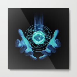 Virtual Reality Check Metal Print