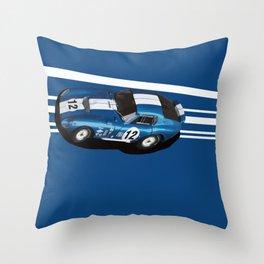 Shelby Daytona Coupe Throw Pillow