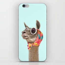 FASHION LAMA iPhone Skin