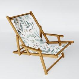 Eucalyptus pattern Sling Chair