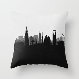 City Skylines: Riyadh Throw Pillow