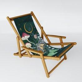 Mushroom night moth Sling Chair