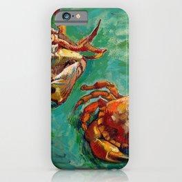 Vincent Van Gogh - Two Crabs iPhone Case