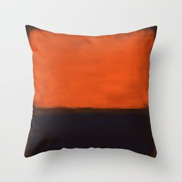 Rothko Inspired #18 Throw Pillow