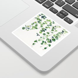 Eucalyptus Watercolor 2  Sticker