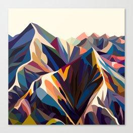 Mountains original Leinwanddruck