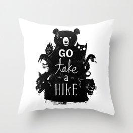 Go Take A Hike Throw Pillow