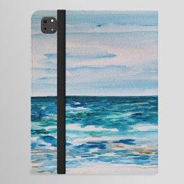 Cabo Beach Mexico Watercolor #1 iPad Folio Case