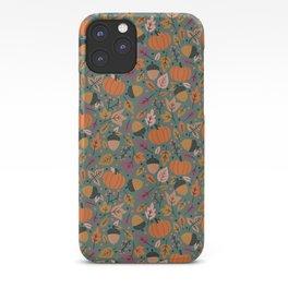 Fall Pumpkin Field iPhone Case