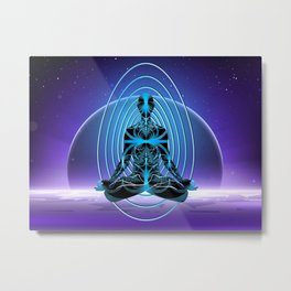 Astral Travel Metal Print