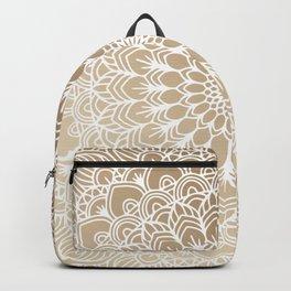 Gold Mandala 19 Backpack