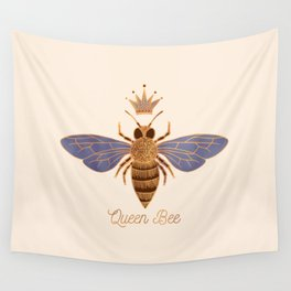 Queen Bee - Light Version Wall Tapestry