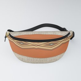 Southwestern Earth Tone Texture Design Fanny Pack