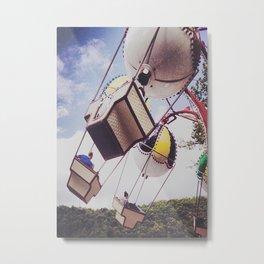ballon ride Metal Print