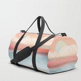 Mint Moon Beach Duffle Bag