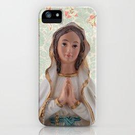 Virgen de Lourdes iPhone Case