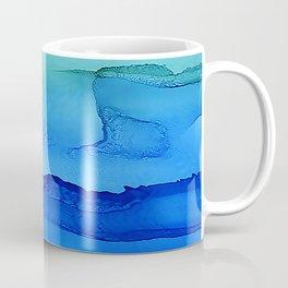 Alcohol Ink Seascape Coffee Mug