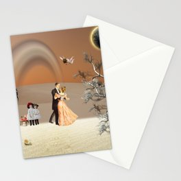 Dancing in the moon light Stationery Cards